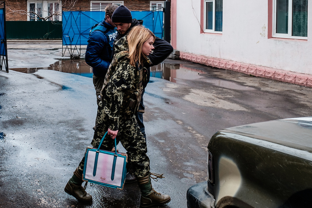 Vasilisa Trofymovych, 23 years old. She is press-officer of Dnipro1 regiment of the Ukrainian army.