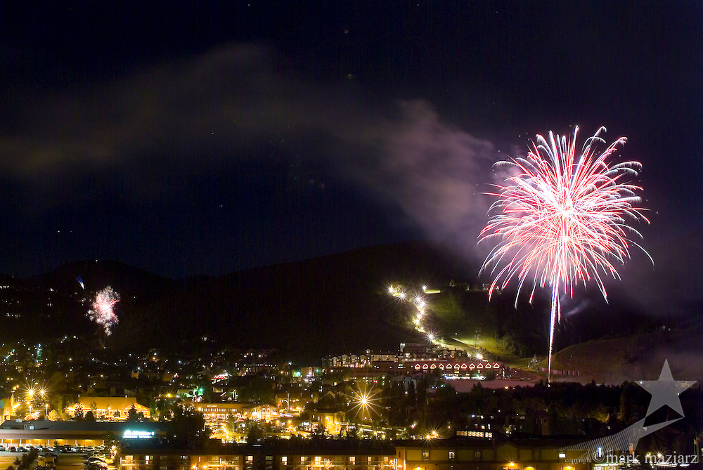fireworks at Park City Mountain Resort 7/4/03