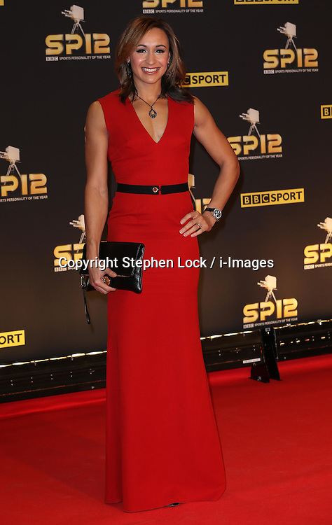 Jessica Ennis arriving at the BBC Sports Personality of the Year awards in London, Sunday, 16th December 2012. Photo by: Stephen Lock / i-Images<br />