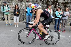 27.07.2014, Zürich, SUI, Ironman Zuerich 2014, im Bild Daniela Ryf (SUI) im Heartbrake Hill // during the Zurich 2014 Ironman, Switzerland on 2014/07/27. EXPA Pictures © 2014, PhotoCredit: EXPA/ Freshfocus/ Claude Diderich<br /> <br /> *****ATTENTION - for AUT, SLO, CRO, SRB, BIH, MAZ only*****