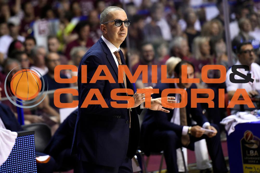 Walter De Raffaele<br /> Umana Reyer Venezia - Dolomiti Energia Aquila Basket Trento<br /> Lega Basket Serie A 2016/2017<br /> Playoff, finale gara 5<br /> Venezia, 18/06/2017<br /> Foto M.Ceretti / Ciamillo-Castoria