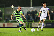 Forest Green Rovers Liam Noble(15) plays a pass during the Vanarama National League match between Forest Green Rovers and Tranmere Rovers at the New Lawn, Forest Green, United Kingdom on 22 November 2016. Photo by Shane Healey.