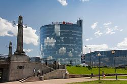 Modern Building Pläsku in Tartu, Estonia, Europe
