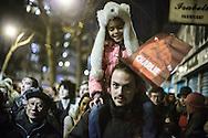 Parigi, 11 gennaio 2015. Manifestazione nazionale di unità nazionale contro gli attentati dei giorni precedenti. / Paris, janury the 11th. National demonstration after terroristic assassinations.