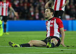 February 10, 2019 - Bilbao, Bilbao, Spain - Player of Athletic de Bilbao  in action during La Liga Spanish championship, , football match between Athletic de Bilbao and Barcelona, February 10th, in Nuevo San Mames Stadium in Bilbao, Spain. (Credit Image: © AFP7 via ZUMA Wire)