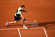 Roland Garros 2011. Paris, France. May 24th 2011..American player Michael RUSSEL against  Gilles SIMON