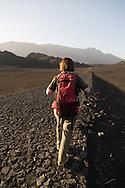 Capo Verde. landscape of the caldeira in Fogo volcano  Fogo island     / Cap-Vert:  paysage de la Caldeira,  le cratere au pied du volcan pic de Fogo  ile de Fogo    /12