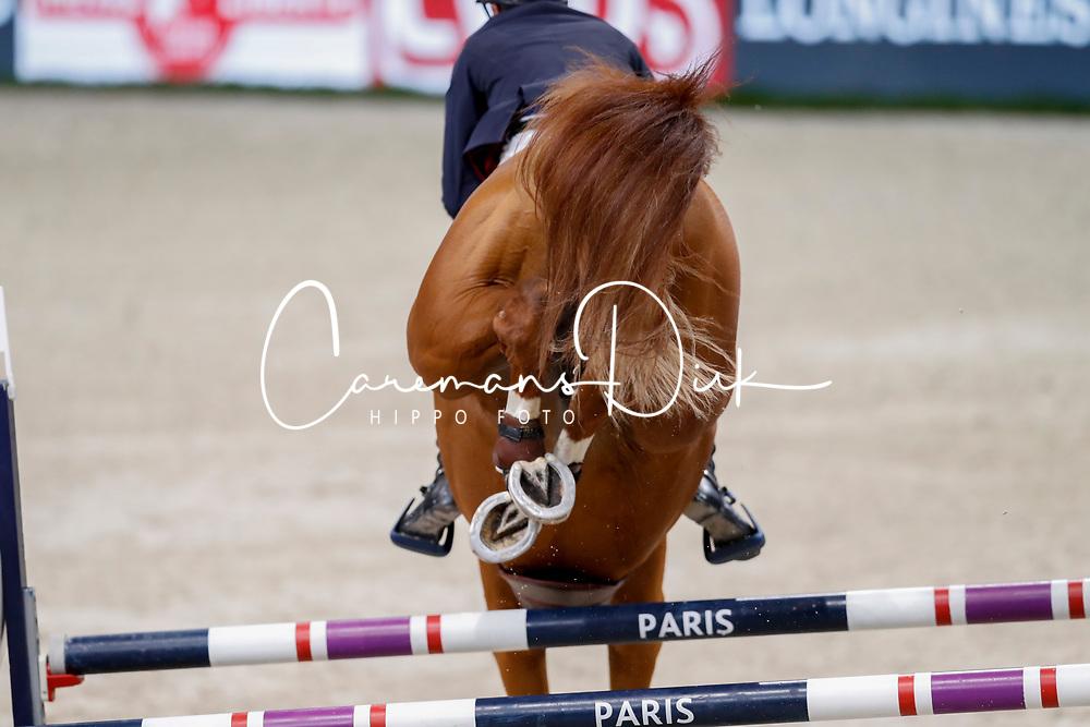Staut Kevin, FRA, Reveur de Hurtebise HDC<br /> LONGINES FEI World Cup™ Finals Paris 2018<br /> © Dirk Caremans<br /> 13/04/18
