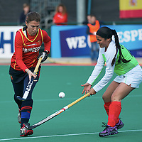 Spain v Mexico OQT Belgium women 2012