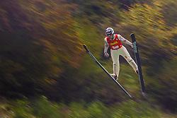 Cene Prevc during national competition in Ski Jumping, 8th of October, 2016, Kranj,  Slovenia. Photo by Grega Valancic / Sportida