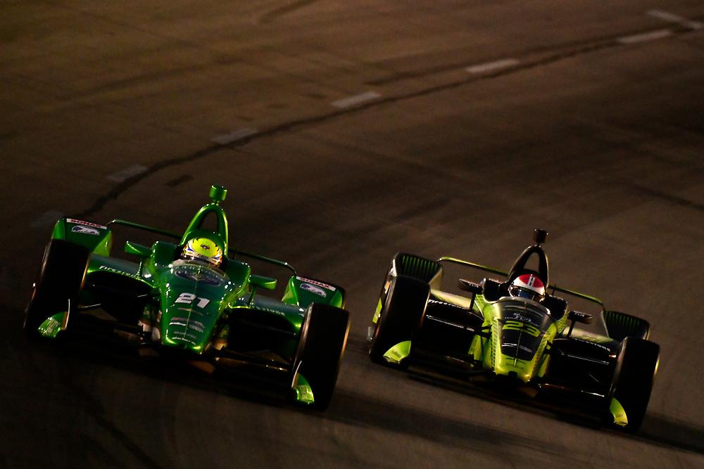 Spencer Pigot, Ed Carpenter Racing Chevrolet, Charlie Kimball, Carlin Chevrolet