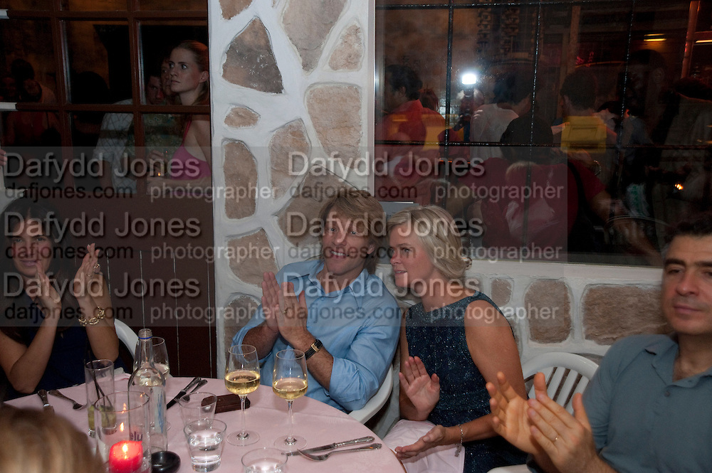 JON BON JOVI, Prada Congo Benefit party. Double Club. Torrens Place. Angel. London. 2 July 2009.