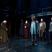March 24, 2016 - New York, NY : David Tennant, in crown fourth from right, performs as Richard II during a photo call/dress rehearsal for The Royal Shakespeare Company's (RSC) Richard II at the Brooklyn Academy of Music's (BAM) Harvey Theater in Brooklyn on Thursday afternoon. The production, which is being directed by RSC Artistic Director Gregory Doran as part of Shakespeare's Great Cycle of Kings, marks the 400th anniversary of William Shakespeare's death.  CREDIT: Karsten Moran for The New York Times