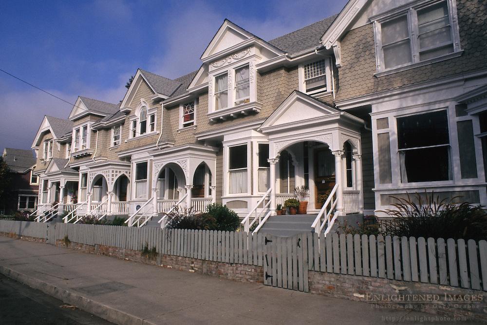 Row Houses (circa 1890's) Santa Cruz, CALIFORNIA
