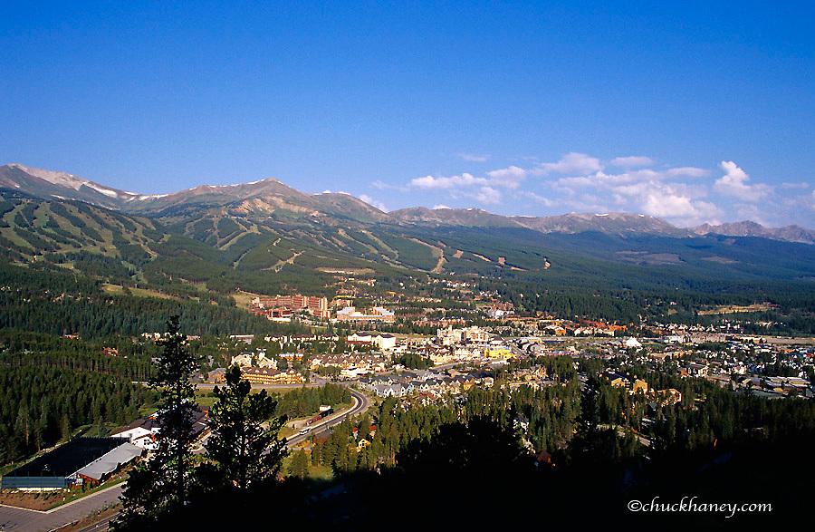 The town of Breckenridge Colorado
