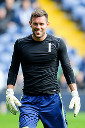 Ben Foster (ENG) of West Brom warms up before the match - Photo mandatory by-line: Rogan Thomson/JMP - 07966 386802 - 12/04/2014 - SPORT - FOOTBALL - The Hawthorns Stadium - West Bromwich Albion v Tottenham Hotspur - Barclays Premier League.
