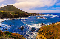 Seascape, Soberanes Point, Garrapata State Park, Monterey County, California USA