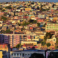 Historic Quarter of Valpara&iacute;so, Chile<br /> Carved into Valpara&iacute;so&rsquo;s 43 hills are five neighborhoods painted in a kaleidoscope of colors. The picturesque buildings are connected by a labyrinth of narrow alleys, steep staircases and century-old funiculars.  The Historic District is shaped like a giant amphitheater with spectacular views of the Pacific Ocean seaport. Valpo, as the local porte&ntilde;os call their city, was designated as a UNESCO World Heritage Site in 2003.