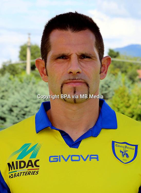 Italian League Serie A -2014-2015 / <br /> ( AC Chievo Verona  ) - <br /> Sergio Pellissier