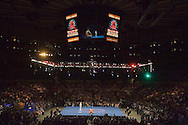 A general view of the World Sumo Challenge at New York's Madison Square Garden. Saturday 22 October 2005.