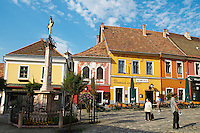 Hongrie, Szentendre, une petite ville sur le Danube à 19 km au nord de Budapest // Hungary, Szentendre is a small town on the Danube River, 19 kilometers north of Budapest.