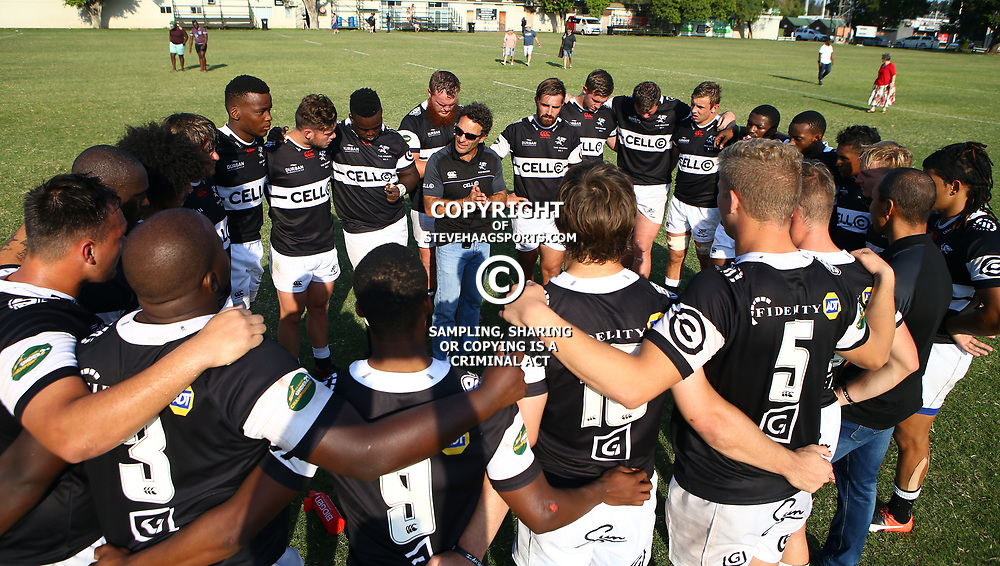 The Sharks after the win during The Cell C Shark 21's and Leopards  21's Currie Cup at Growthpoint Kings Park KP2 in Durban, South Africa. 8th September  2017 (Photo by ( Steve Haag Sports)