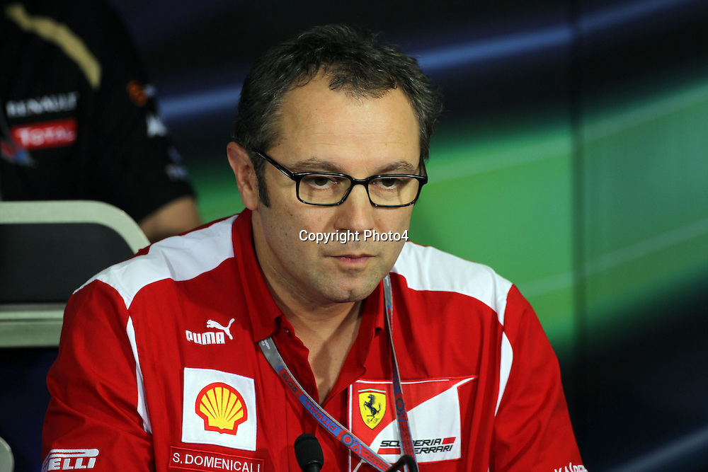 &copy; Photo4 / LaPresse<br /> 26/10/2012 Noida, India<br /> Sport <br /> Indian Grand Prix, Noida 25-28 October 2012<br /> In the pic: Stefano Domeicicali (ITA), Team Principal, Scuderia Ferrari