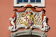 Neues Schloss, Oberstadt von Meersburg, Bodensee, Baden-Württemberg, Deutschland