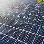 Solar Farm - Drone