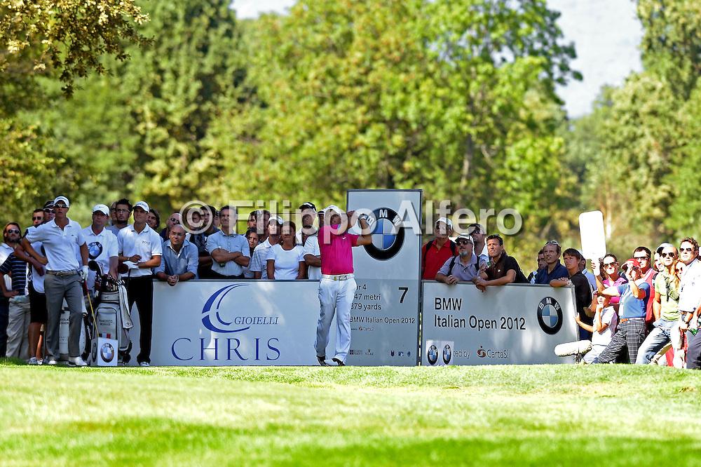 &copy; Filippo Alfero<br /> Golf Italian Open<br /> Torino, 13/09/2012<br /> sport golf<br /> Nella foto: Francesco Molinari