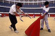 COLOMBIA:  Bogota.Learning to be Matadors at the bullring