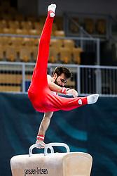 Oliver Hegi of Switzerland at Pommel Horse during Qualifications of Artistic Gymnastics FIG World Challenge Koper 2018, on May 31, 2017 in Arena Bonifika, Koper, Slovenia. Photo by Matic Klansek Velej/ Sportida