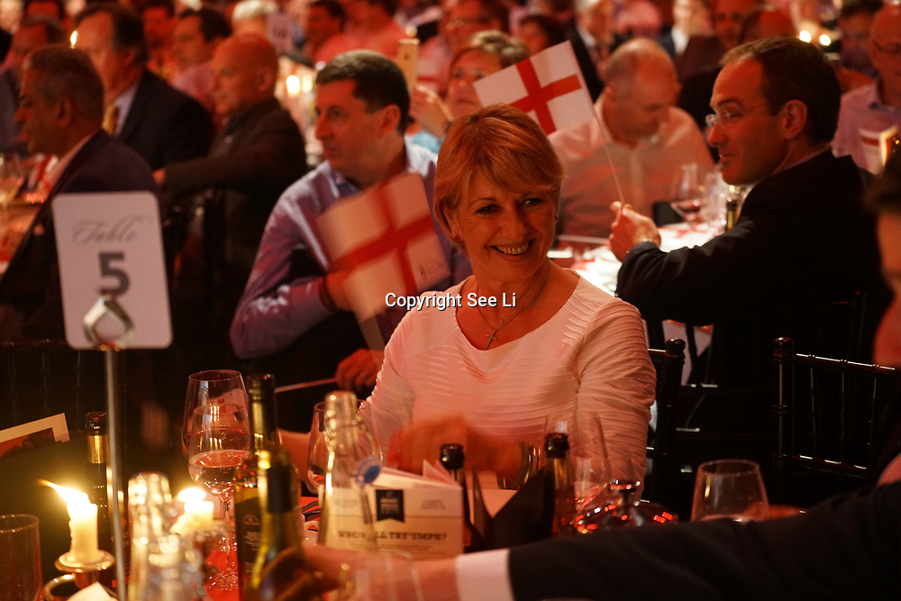 The Brewery,,London,England,UK.14th April 2017. A host of celebrities attends the Pride of St George at The Brewery. by See Li