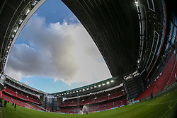 August 31, 2017 - Copenhagen, Denmark - View of the Telia Parken Stadium in Copenhagen, Denmark on 31 August 2017. (Credit Image: © Foto Olimpik/NurPhoto via ZUMA Press)