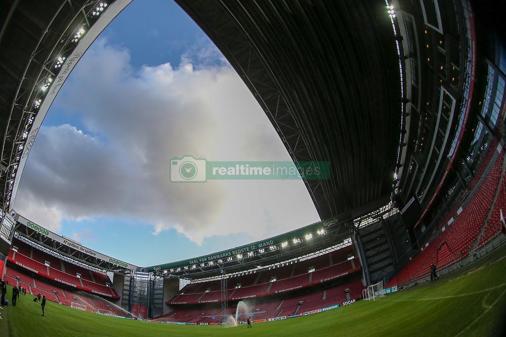 August 31, 2017 - Copenhagen, Denmark - View of the Telia Parken Stadium in Copenhagen, Denmark on 31 August 2017. (Credit Image: © Foto Olimpik/NurPhoto via ZUMA Press)