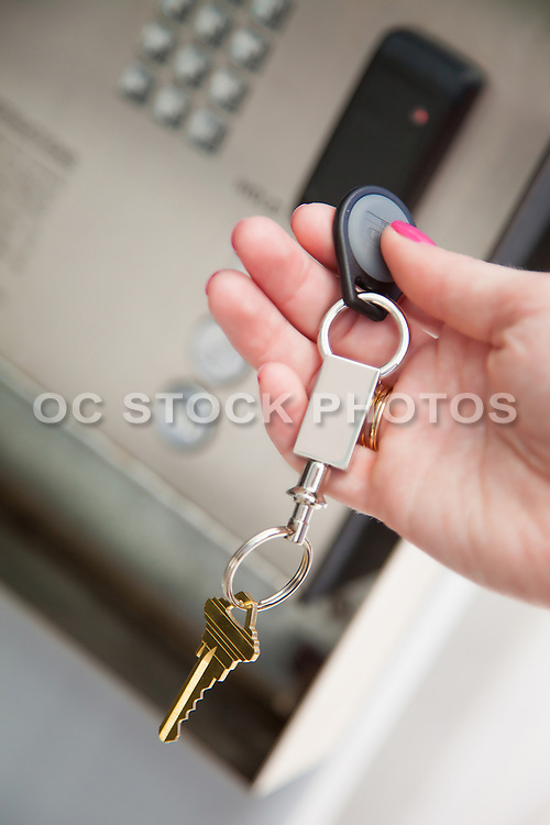 Gated Community Security Keypad and Key Fob