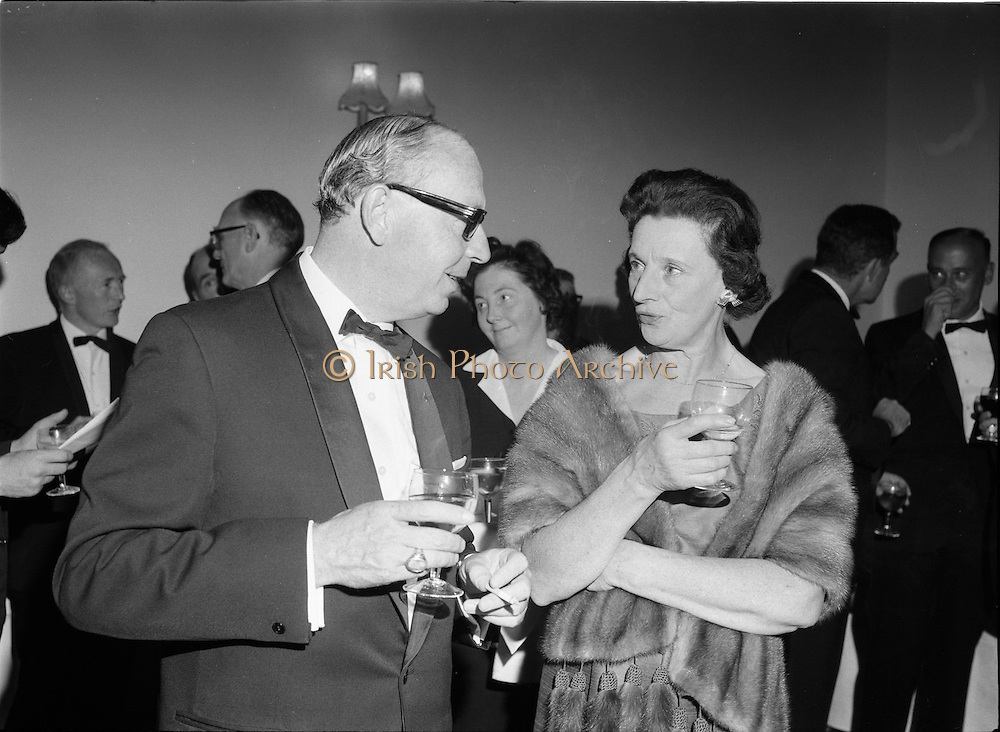 20/09/1967<br /> 09/20/1967<br /> 20 September 1967<br /> International SPAR dinner at the Shelbourne Hotel, Dublin.