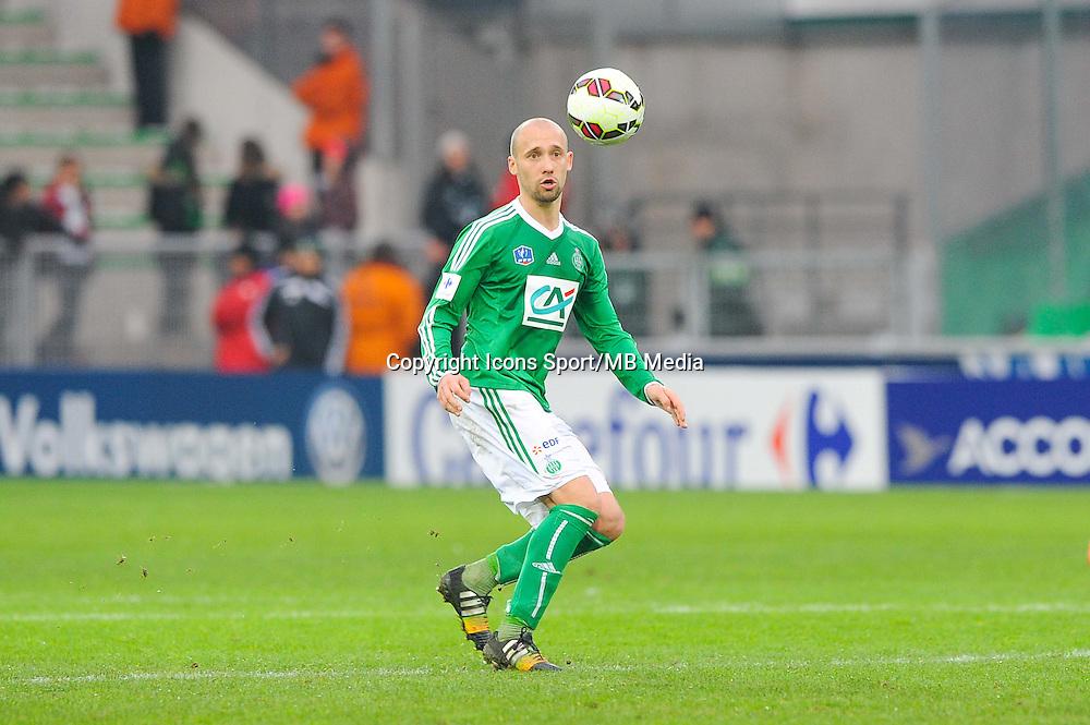 Renaud COHADE  - 04.01.2015 - Saint Etienne / Nancy - Coupe de France<br /> Photo : Jean Paul Thomas / Icon Sport