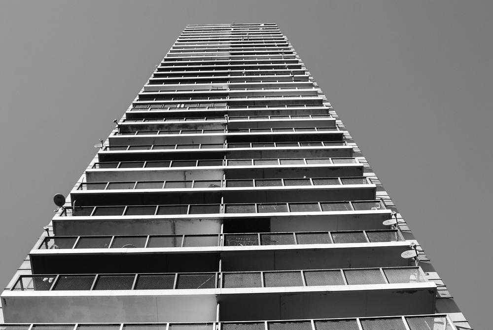 Hi-rise building NYC. 2008