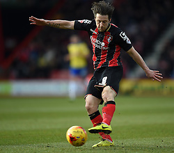 Bournemouth's Harry Arter in action during the Sky Bet Championship match between AFC Bournemouth and Huddersfield Town at Goldsands Stadium on 14 February 2015 in Bournemouth, England - Photo mandatory by-line: Paul Knight/JMP - Mobile: 07966 386802 - 14/02/2015 - SPORT - Football - Bournemouth - Goldsands Stadium - AFC Bournemouth v Huddersfield Town - Sky Bet Championship