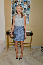 DONNA AIR at a party to celebrate the launch of Baar & Bass, 336 Kings Road, London on 9th September 2014.