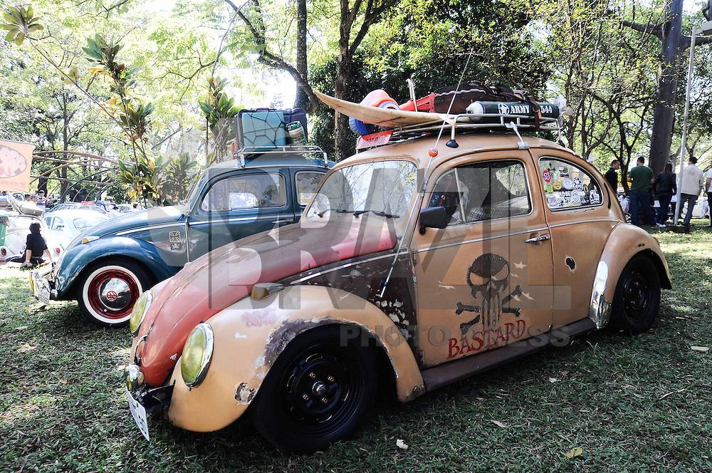 SAO CAETANO DO SUL, SP, 26 de Maio 2013 -Esta sendo realizado o primeiro encontro Sulamericano de Rat Look ?carros com marcas do tempo?,de preferencia ANTIGO, No Parque Bosque do Povo no Bairro Sao Jose em Sao Caetano do Sul ABC FOTO:ADRIANO LIMA / BRAZIL PHOTO PRESS).