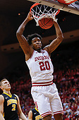 NCAA Basketball - Indiana Hoosiers vs Iowa Hawkeyes - Bloomington, In