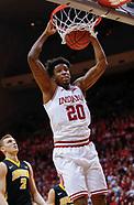 NCAA Basketball - Indiana Hoosiers vs Iowa Hawkeyes - Bloomington, In