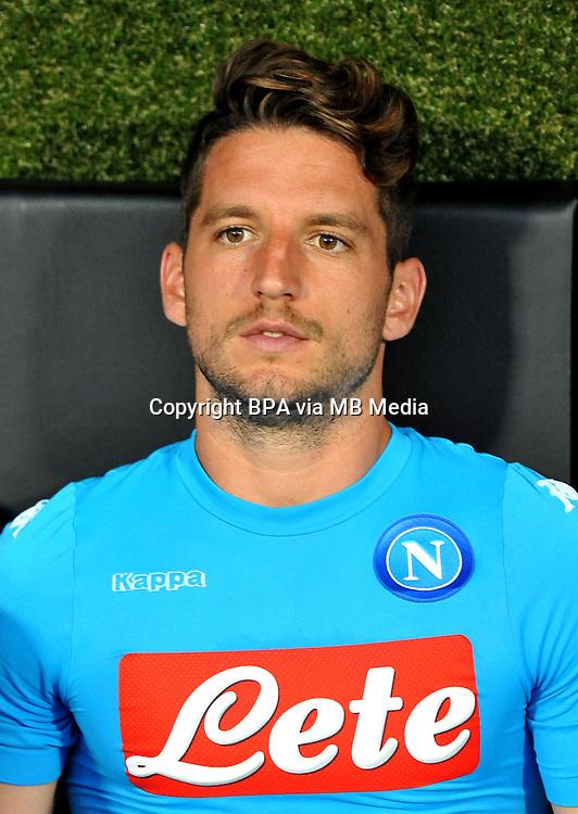 Italian League Serie A -2016-2017 / <br /> ( Ssc Napoli ) - <br /> Dries Mertens