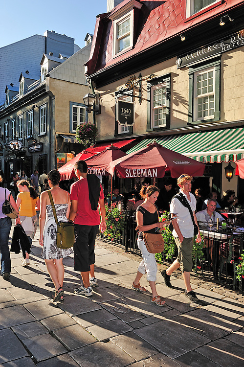 Rue Sainte Anne, Old Town,,Quebec City,Quebec, Canada,