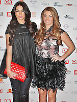LONDON - November 27: Cara Kilby & Billi Mucklow at the OK! Magazine - Christmas Party (Photo by Brett D. Cove)