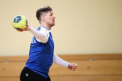 at practice session of handball team Slovenia before the match against Germany, on May 01, 2017 in Vojasnica Edvarda Peperka, Ljubljana, Slovenia. Photo by Matic Klansek Velej / Sportida