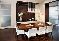 2425 L Street designer Lorne Gross Dining Room