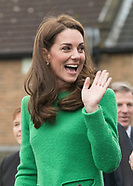 Kate Middleton Visits Lavender Primary School